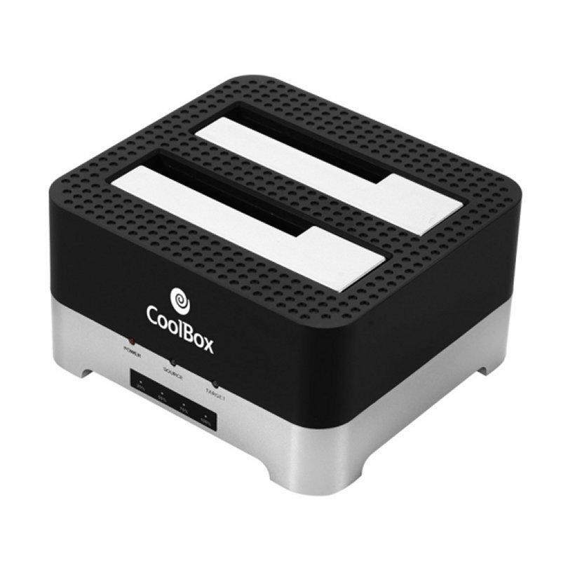 Coolbox Duplicador V2HDD/SSD 3.5