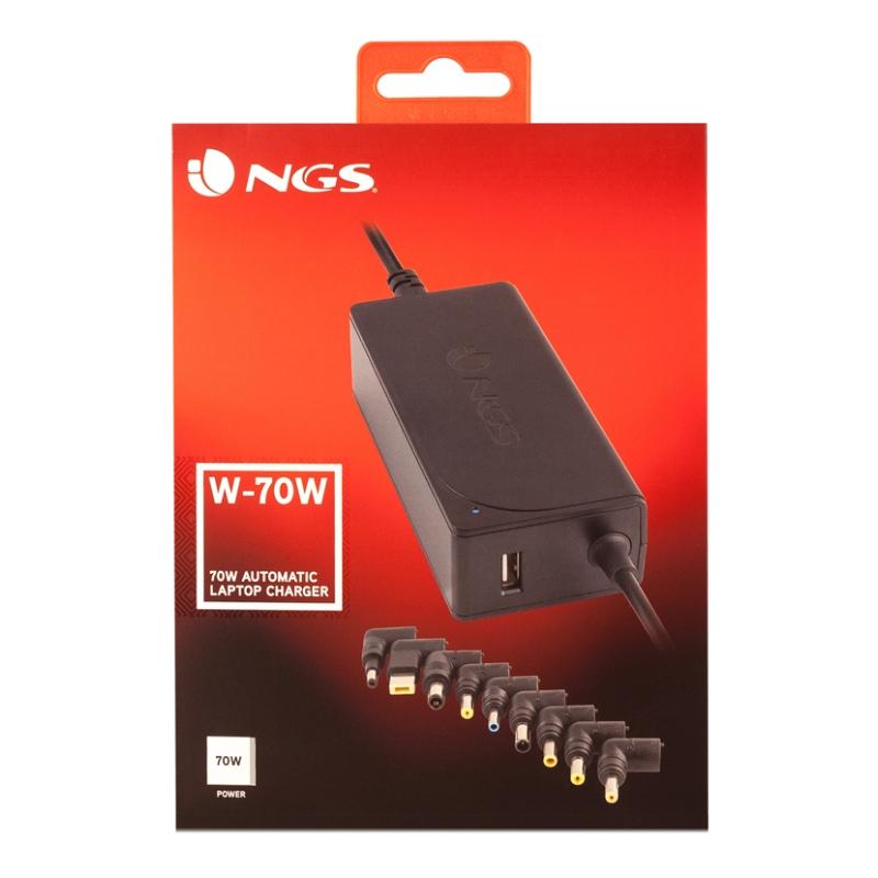 NGS Cargador Portatil Sliml W-70