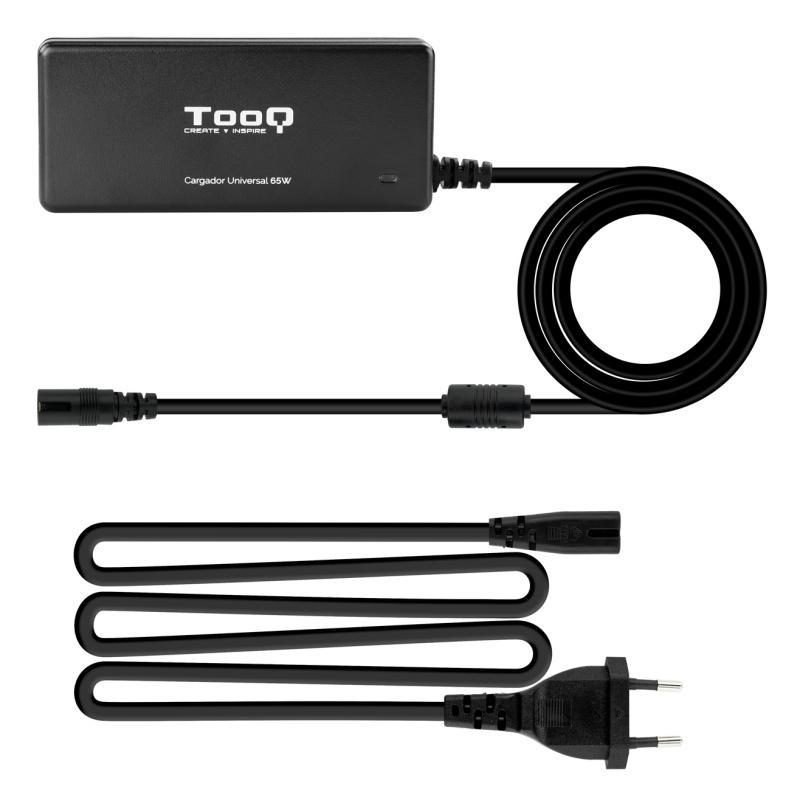 Tooq Cargador portátil 65W auto 12 conectores