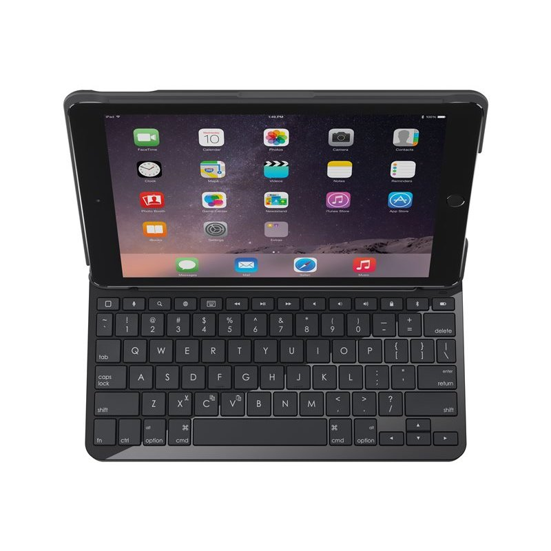 "Logitech Funda + Teclado para Apple iPad de 9,7"""