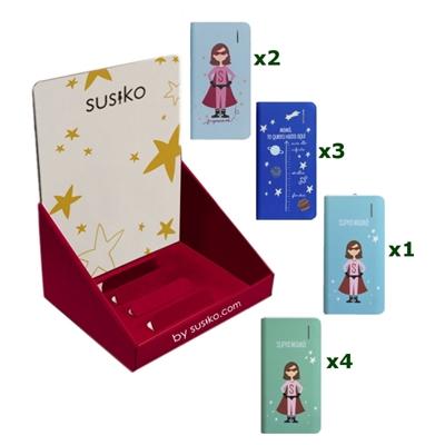Susiko 10 PowerBank Super Mama + Expositor