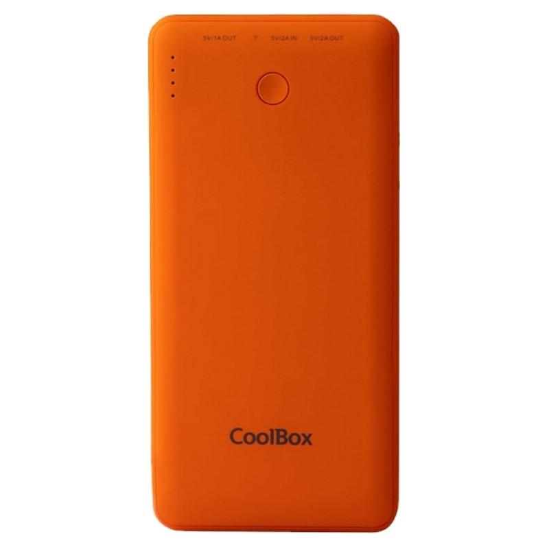 Coolbox Powerbank 10.000 MAH Naranja