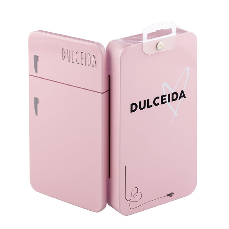 Funda Iphone 6-7-8 Plus Dulceida DLCAR023 Transparente Rosa - www