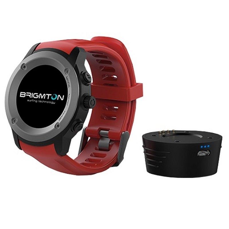 Brigmton BWATCH-100GPS SmartWatch GPS IP54 Rojo