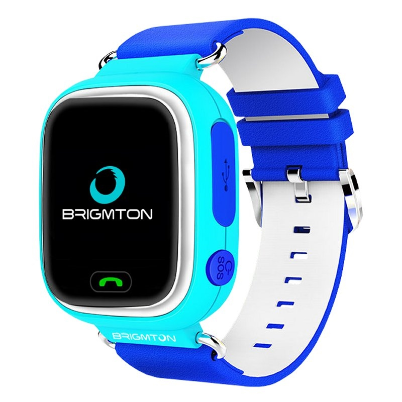 Brigmton BWATCH-KIDS SmartWatch GPS Azul