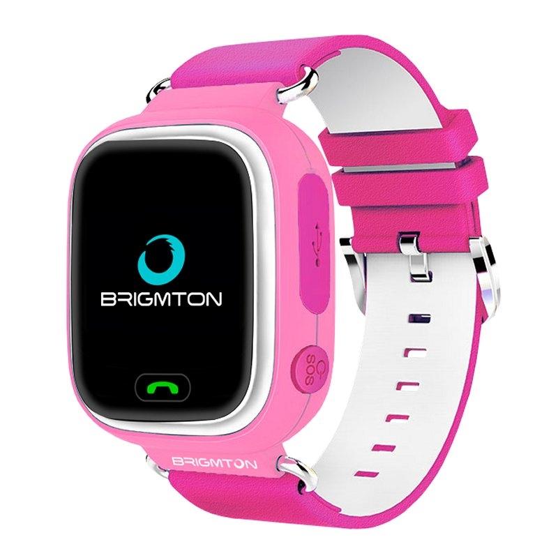 Brigmton BWATCH-KIDS SmartWatch GPS Rosa