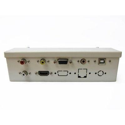 Caja conex. Pizarr.con conecHDMI+ cables10m noHDMI