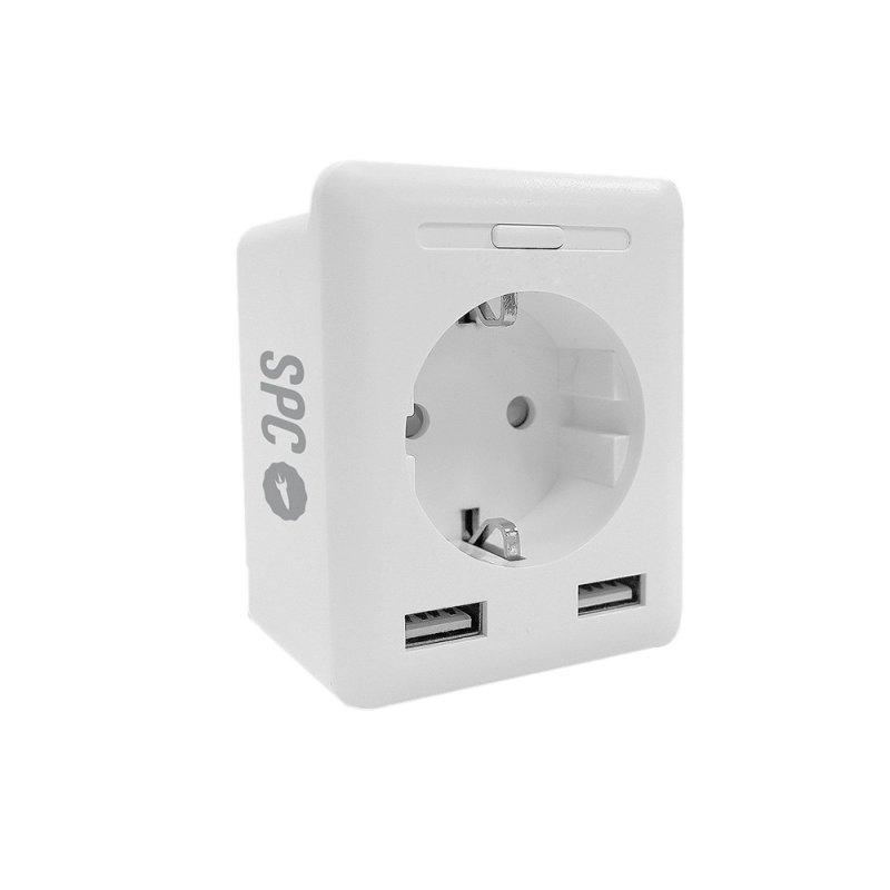 SPC CLEVER PUG USB Enchufe inteligente