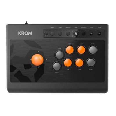Krom Gamepad Arcade Kumite Multiplataforma