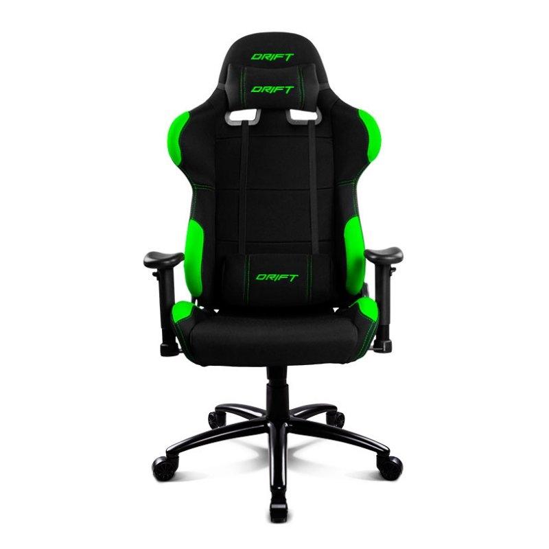 Drift DR100BG Silla Gaming Negra/Verde