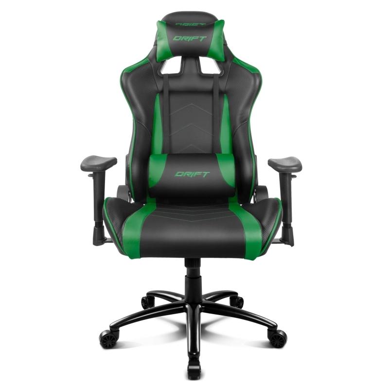 Drift Silla Gaming DR150 Black/Green