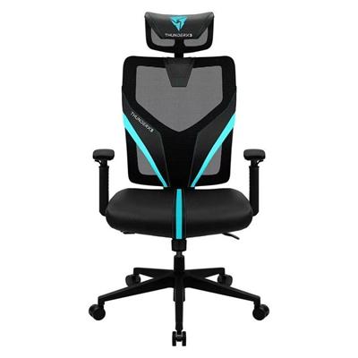 Thunderx3 Silla Gaming YAMA1 black cyan ergonomic