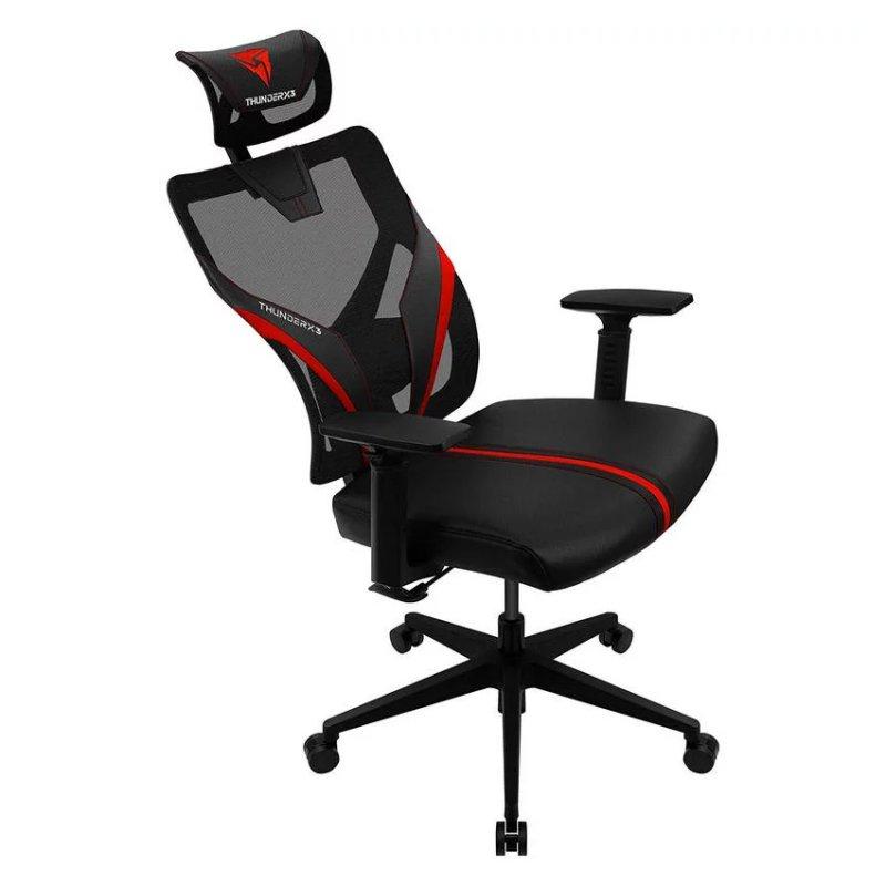 Thunderx3 Silla Gaming YAMA1 black red ergonomic