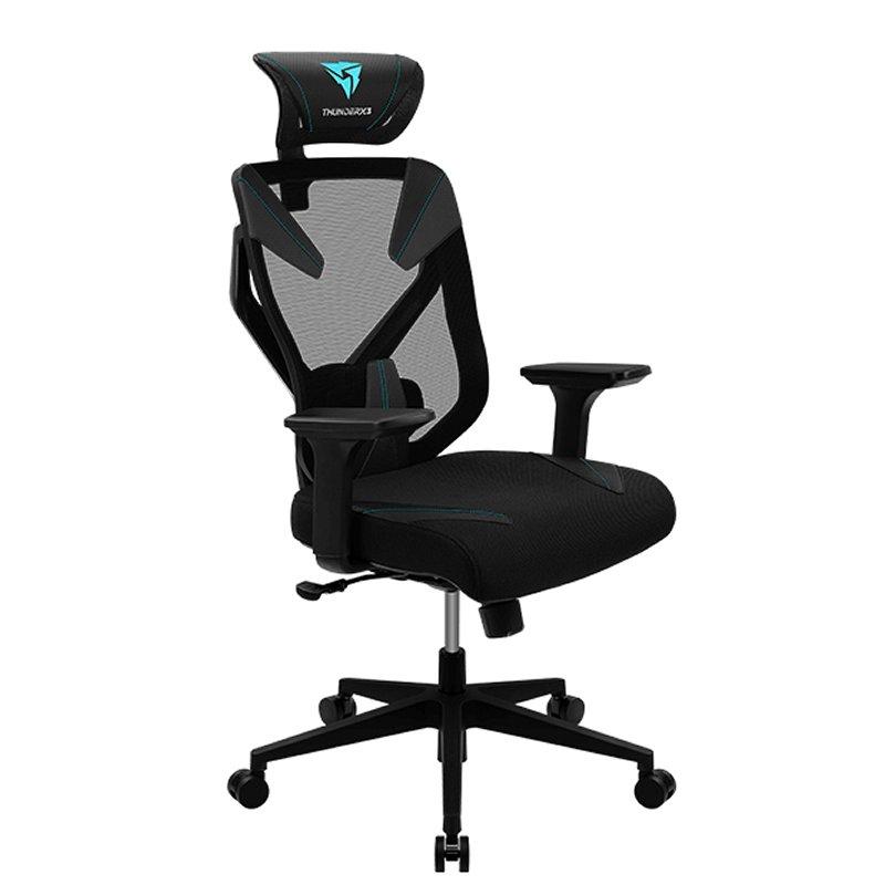 Thunderx3 Silla Gaming yama3 cyan black ergonomic
