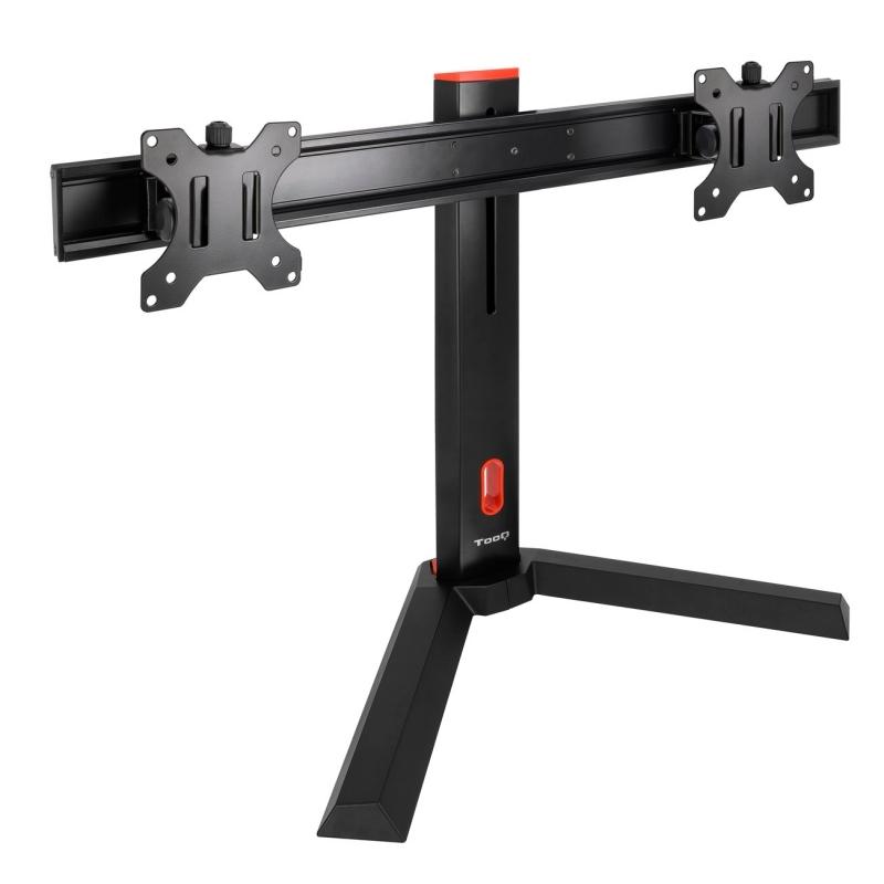 Tooq DB1402TN-B Soporte mesa 2 monitor gamm 17-27