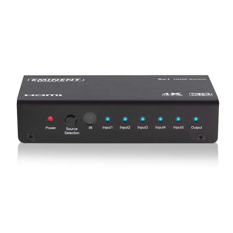 EWENT AB7819 5 x 1 HDMI switch, 3D and 4K support