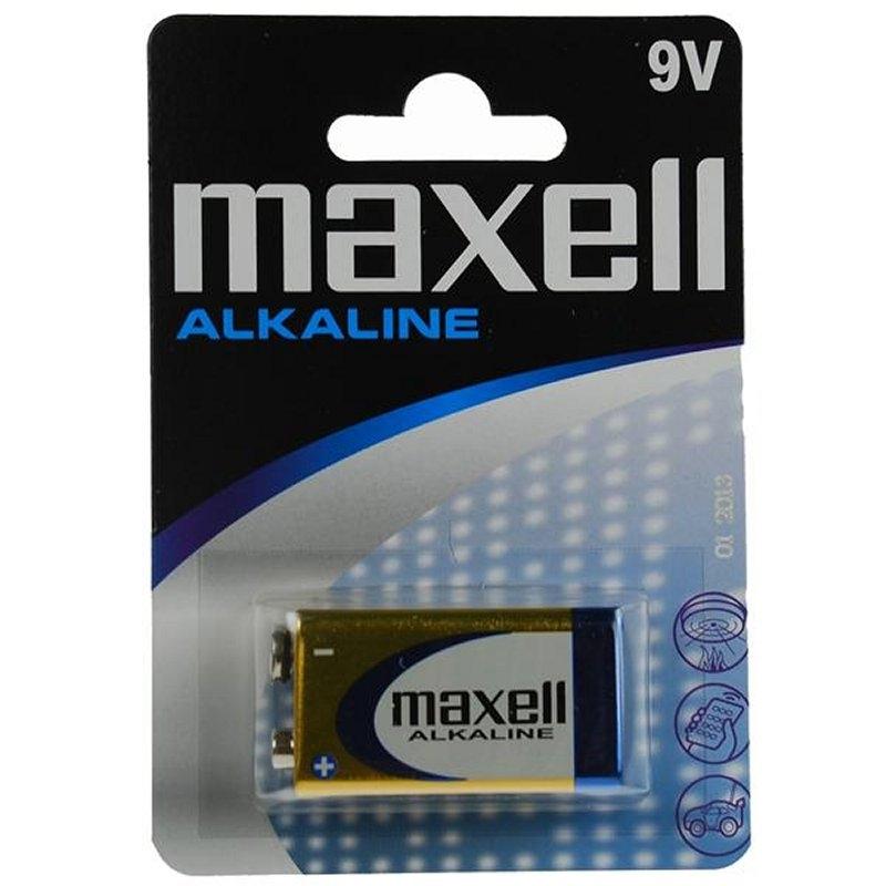 Maxell  Pila Alcalina 9V LR61 Blister*1 EU