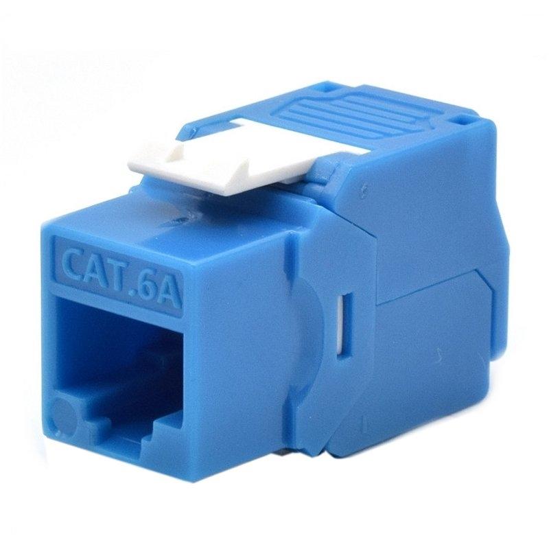 WP Keystone Cat. 6a UTP RJ45/Hembra Azul