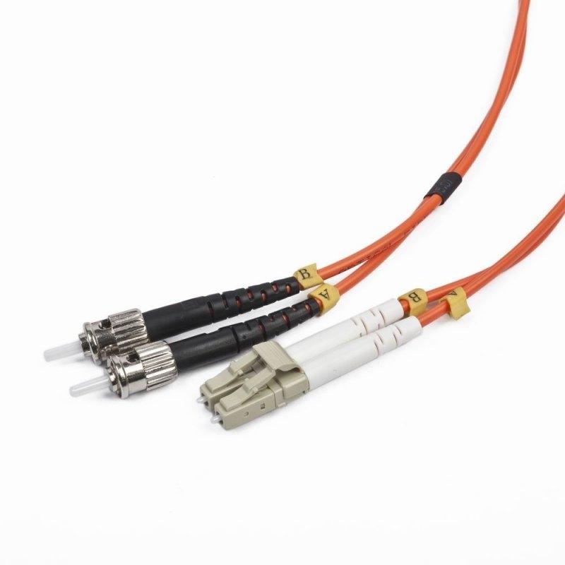 iggual Cable Fibra Óptica Duplex Mult. LC/ST 10 Mt