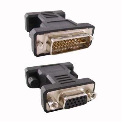 Conversor DVI 24+5/M-VGA HDB15/H