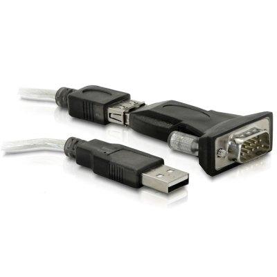 Delock Adaptador USB 2.0 - Serie DB9 con cable