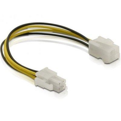 Delock Cable Alimentación conectores 4 pines M/H