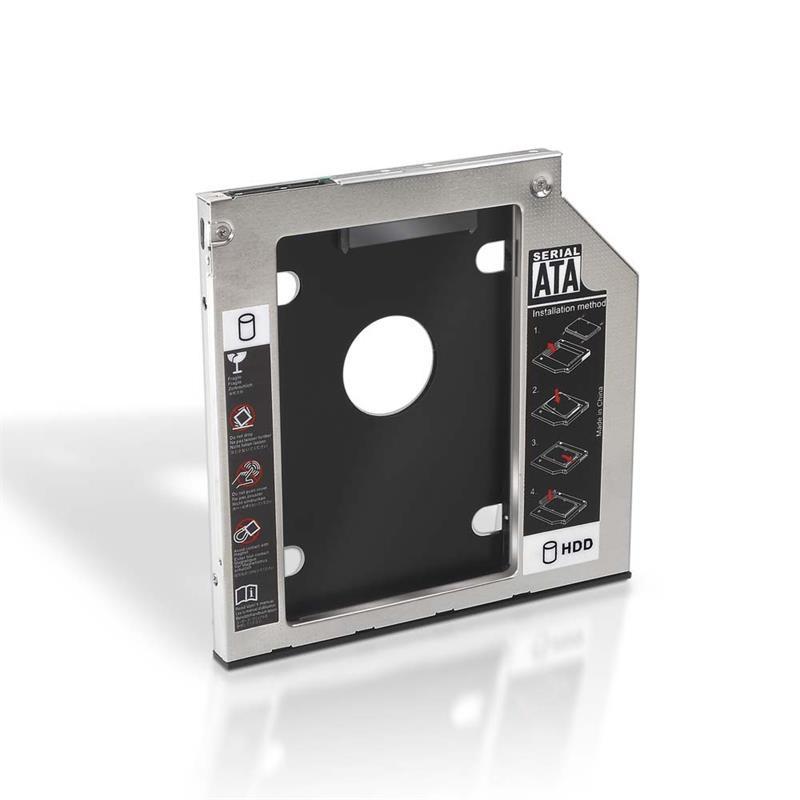 Adaptador HDD 7,0mm para unidad óptica  9,5mm
