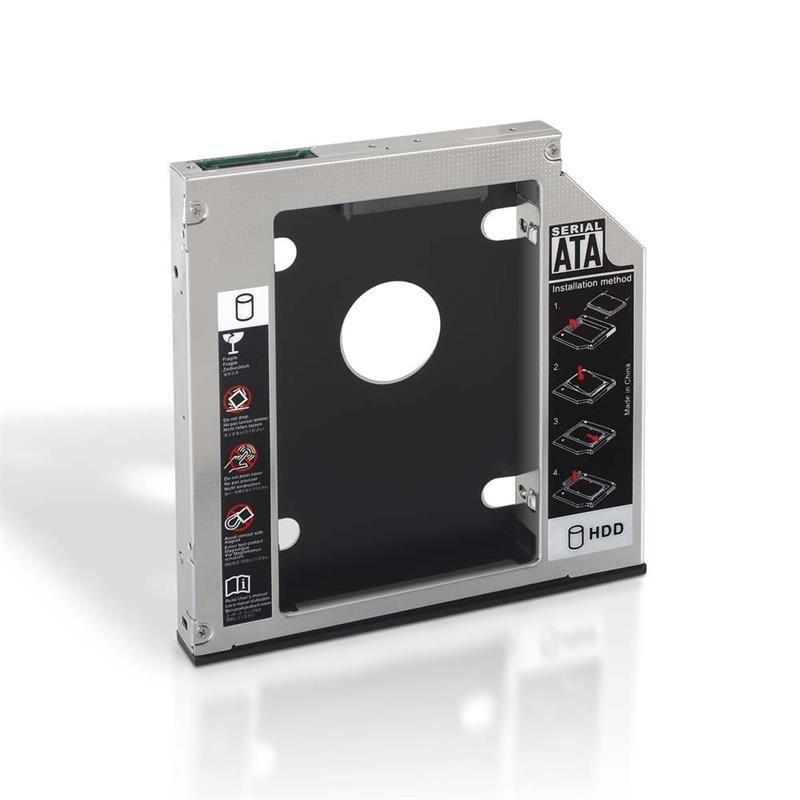 Adaptador HDD 9.5mm para unidad óptica 12,7mm
