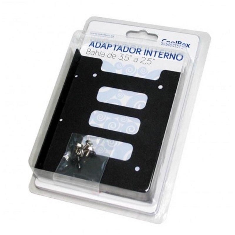 CoolBox Adaptador BAHIA 3.5 A 2.5 (SSD) METAL