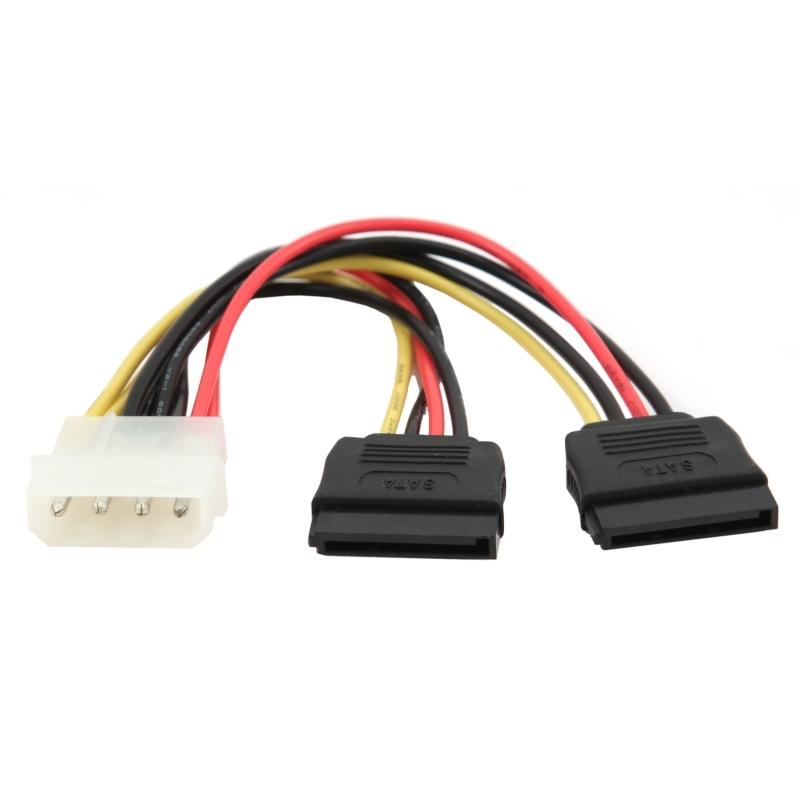 Gembird Cable SATA Alimentación  XHD2 15 Cm