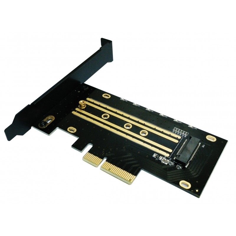 Coolbox Adaptador SSD M.2 NVMe a slot PCIE