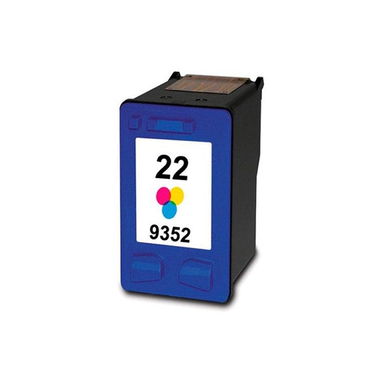 INKOEM Cartucho Reciclado HP N22XL Color