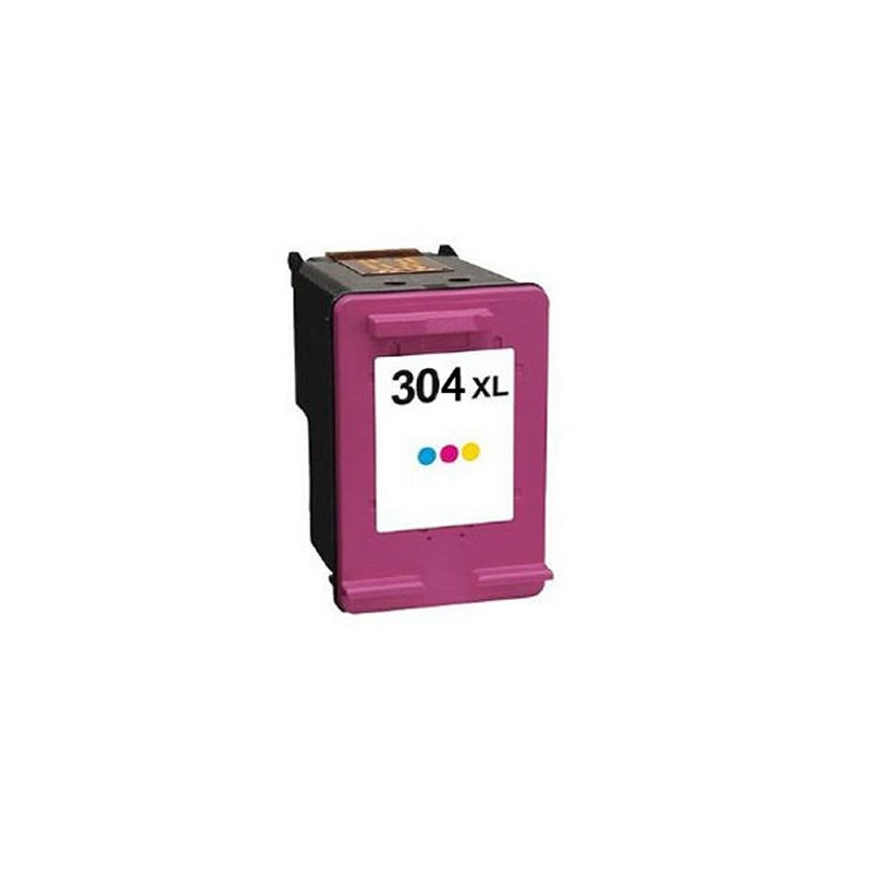 INKOEM Cartucho Reciclado HP N304 XL Color