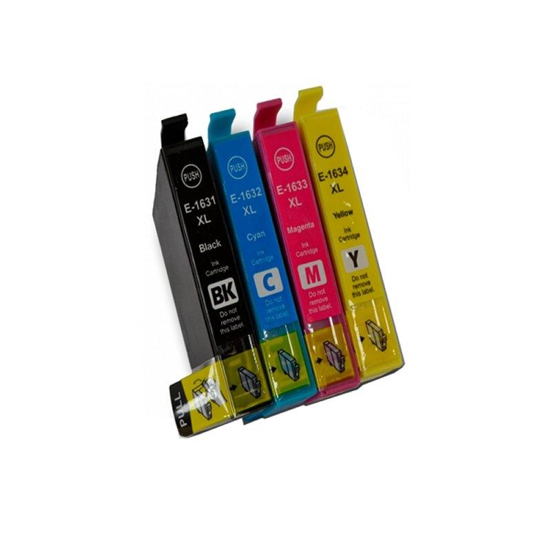 INKOEM Cartucho Compatible Epson T1632XL Cian