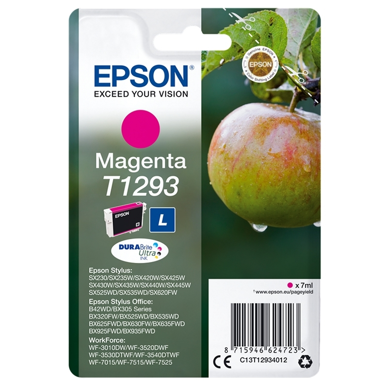 EPSON Cartucho T1293 Magenta 11.2 ml