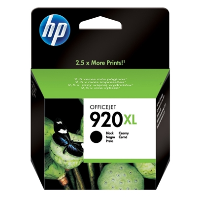 HP 920XL cartucho Negro Officejet serie 6000/6500
