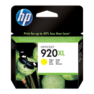 HP 920XL CD974AE cartucho amarillo Officejet