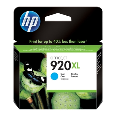HP 920XL cartucho Cian Officejet serie 6000/6500
