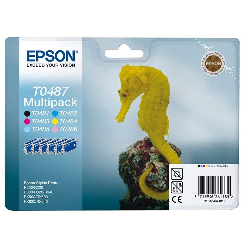 Epson Cartucho Multipack T0487