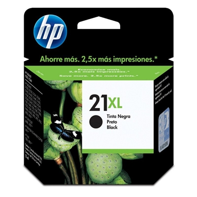 HP 21XL C9351CE cartucho negro Deskjet/Officejet