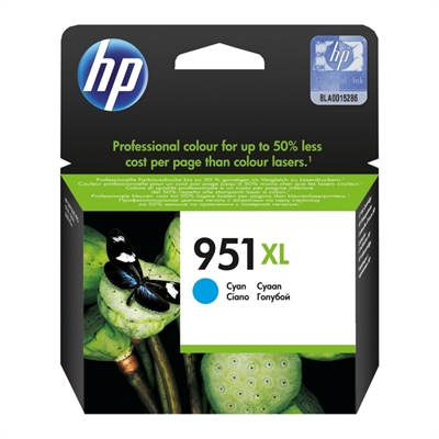 HP no.951XL Cartucho Cyan CN046A Office. Pro 8600
