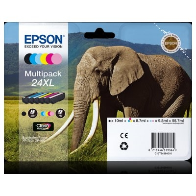 Epson Cartucho Multipack T24XL Pack   XP-970