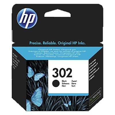 HP 302 F6U66AE cartucho negro Officejet 3830