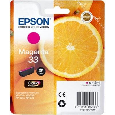 Epson Cartucho T3343 Magenta