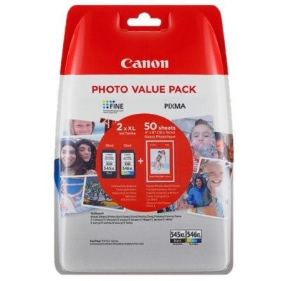 Canon Cartucho Multipack PG-545XL/CL-546XL