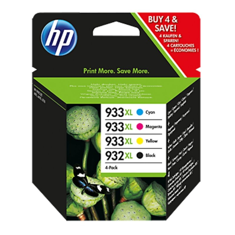 HP 932XL/933XL multipack (4colores) 2P42AE