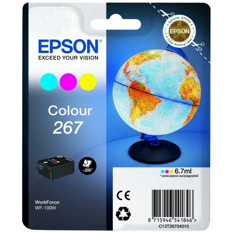 Epson Cartucho T267 Color