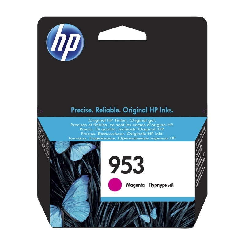 HP 953 Cartucho Magenta F6U13AE Officejet 8710