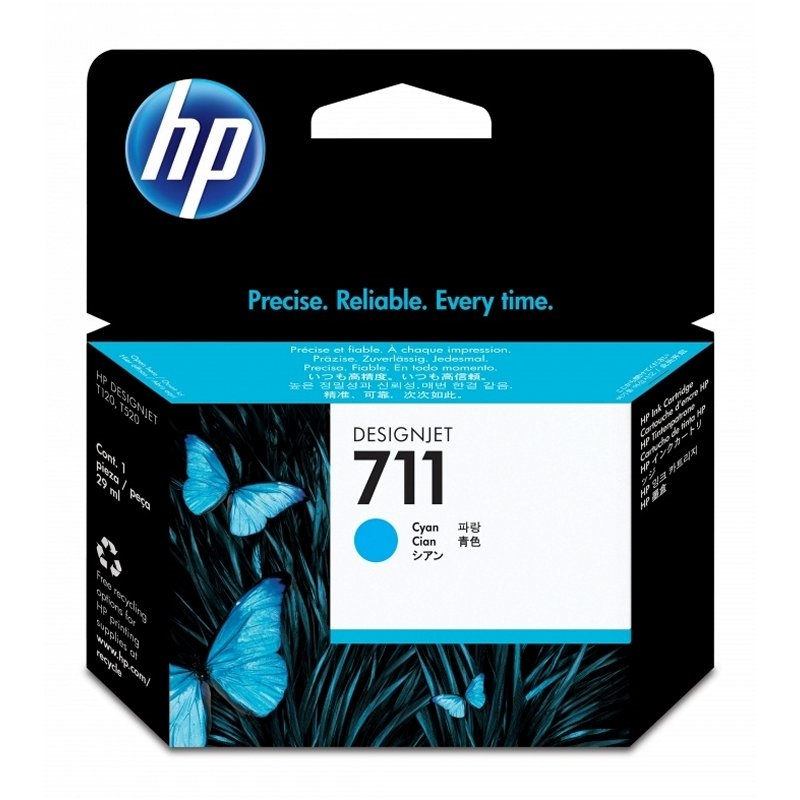 HP 711 CZ130A cartucho Cyan HP DesignJet T120