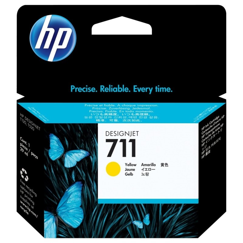 HP 711 CZ132A cartucho Yellow HP DesignJet T120